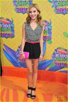 G Hannelius - Kids Choice Awards 2014