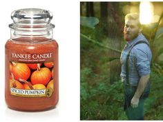 I got: Spiced Pumpkin! What Yankee Candle Does Your Perfect Man Smell Like?