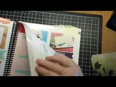 Binding and Tabs for the Stampin' Up! Catalog - YouTube