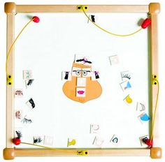 Funny Face Wall Activity Toy - SensoryEdge - 1 Gressco