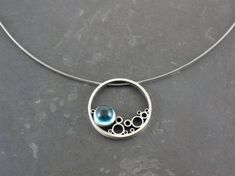 Bubbles Pendant by robjewelry on Etsy