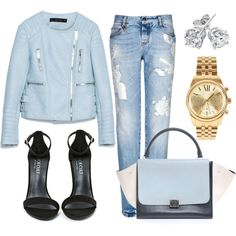 """""""Baby blue"""" by stepkasia on Polyvore"""