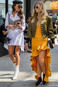 New York Fashion Week Zadig Voltaire Street Style NYFW SS18
