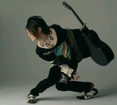 Miyavi. Miyavi, Japanese Love, Dir En Grey, Attractive People, Japanese Artists, Visual Kei, Rock Style, Record Producer, Asian Men