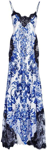 ROBERTO CAVALLI Printed Dress - Lyst