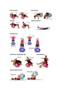 Core Stability Swiss and Medicine Ball Exercises for Paddlesport