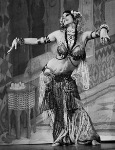 Rachel Brice who has taken tribal belly dancing  into the world of high art.