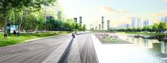 Green River Project | Moscow Russia | OKRA #landscape #russia #river