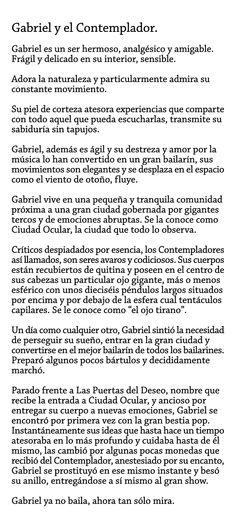 Gabriel y el Contemplador.