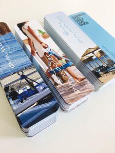 Smart design page markers for Ammades Seaside Restaurant & Bar!