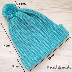 Gorro a crochet para principiantes - Crochet con Sole Mother Daughter Quotes, Crochet For Beginners, Beginner Crochet, Blouse Designs, Crochet Projects, Knitted Hats, Knitting, Sewing, Handmade