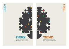 From IBM's collection of posters that invites us to THINK.