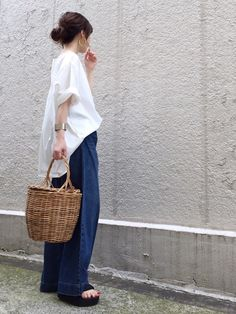 Spick & Spanのシャツ・ブラウス「ボートネック プルオーバーブラウス◆」を使ったari☆のコーディネートです。WEARはモデル・俳優・ショップスタッフなどの着こなしをチェックできるファッションコーディネートサイトです。