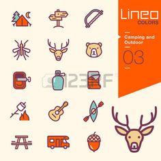 каяк: Lineo Цвета - Отдых на природе и Открытый иконки