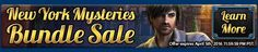 New York Mysteries Bundle #Sale! Bundle Sale! Buy New York Mysteries: The Lantern of Souls Collector's Edition at regular price and get previous New York Mysteries games for $2.99 each! Use code SOULS at checkout. Offer valid April 4-5, 2016. http://wholovegames.com/hidden-object/new-york-mysteries-3-the-lantern-of-souls-collectors-edition.html