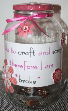 Money jar diy on pinterest money jars savings jar and money for Cool money jars