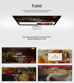 premium wordpress theme, designed for food, bakery, cafe, pub & restaurant websites.