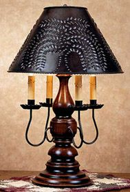 WILLOW TABLE LAMP W FOUR ARMS . Had this lamp for years and have never gotten tired of it. Don't think my shade is as shinny looking. The light shinning thru the shade looks really nice !