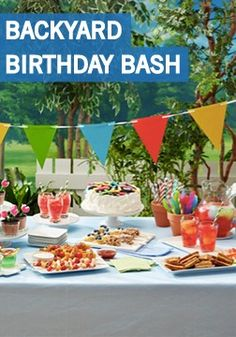 Celebrate your little one's special day in a big way with this Backyard Birthday Bash idea. This is your one-stop shop for creative, kid-friendly recipes, festive outdoor decorations, and new spins on old-fashioned party games.