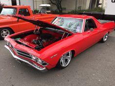 Chevrolet ElCamino 69-red Custom