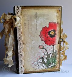 Jazzy Creations...: New Tutorial! File Folder Junk Journal