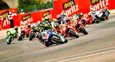 Misano 2013 MotoGP start...
