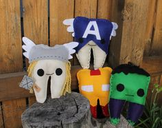 Avengers Tooth Fairy Pillow--these are awesome!! The owner of this Etsy Store was so helpful in getting me the pillow in a rush!