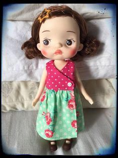 Your place to buy and sell all things handmade Kawaii Doll, Wrap Dress Floral, Pink Candy, Blythe Dolls, Vintage Floral, Whimsical, Pure Products, Auntie, Plushies