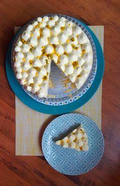 Cheesecake japonais, chantilly aux fruits de la passion 1 Oatmeal, Battle, Blog, Passion, Breakfast, Inspiration, Ideas, Japanese Cheesecake, Food