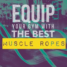 Professional gyms like Fit Body equip their facilities with our commercial-grade Muscle Ropes. Challenge your clients to an intense workout with our strong, durable battle ropes. Learn more --> http://muscleropes.com/shop-products/