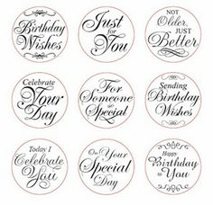 Snippets of Paper: Happy Birthday Gift Box Happy Birthday Printable, Christmas Tags Printable, Free Printable Cards, Birthday Tags, Happy Birthday Messages, Free Printables, Printable Labels, Birthday Scripture, Birthday Verses For Cards
