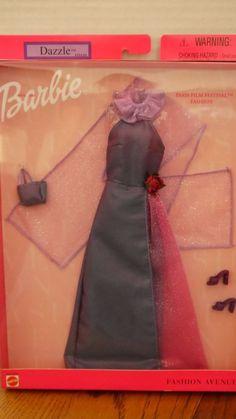 New Barbie Fashion Avenue Dazzle Collection Paris Film Festival Purple Rose   eBay