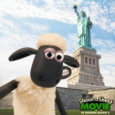 Shaun is taking him freedom to a whole new level! This summer, catch #ShaunTheSheep & the flock in U.S. theaters 8/5.