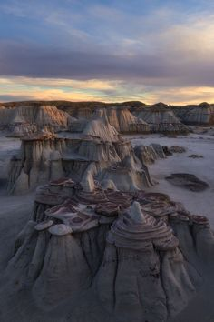 Pancakes, Bisti/De-Na-Zin Wilderness, New Mexico