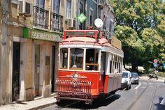 Trams de Lisbonne (Portugal)