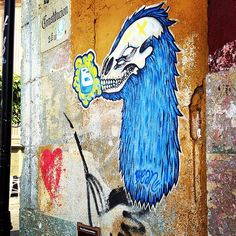 Street art Street Art, Moose Art, Animals, Painting, Instagram, Oaxaca, Animales, Animaux, Painting Art