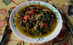 Auche afghan végétalien / Vegan afghan auche 2014-02-02