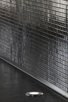 Mirrored black mosaic