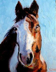 """Smoky"" - Original Fine Art for Sale - © Kristen Dukat"