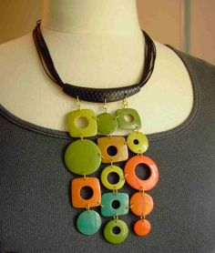 collier plastron tout poli by la sagrada, via Flickr