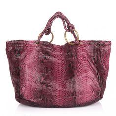 DESIREE LAI Tasche: Isla Python Bag Nature Bag — Fashionette.de