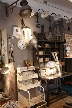 diy industrial decorating ideas - Google Search