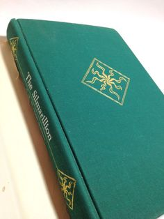 The Silmarillion, J. R. R. Tolkien, First Edition Silmarillion, Vintage Book,  Collectible Book, Hardcover Book, Collectible Tolkien by FlyingCraneThrift on Etsy