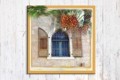 Unique Mediterranean Art Yellow Israel Landscape by shlomitsart, $37.00