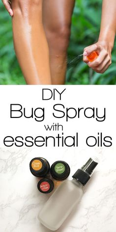 oil bug repellant Homemade Bug Spray with Essential Oils A simple, homemade bug spray recipe with essential oils. This bug spray is easy to make, smells awesome and perfect for adults and kids! Essential Oil Beginner, Essential Oil Uses, Doterra Essential Oils, Essential Oil Bug Spray, Homemade Bug Spray, Bug Spray Recipe, Natural Bug Spray, Natural Skin, Natural Health