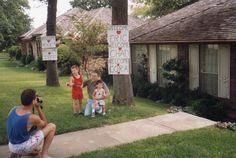 Jeff, Chad, Eric and Dad- Arlington, TX- 1989