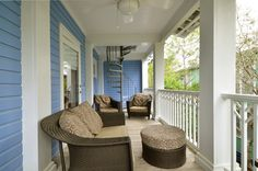 Balcony Porch | Mr. Cool Breeze | Cottage Rental Agency | Seaside, Florida