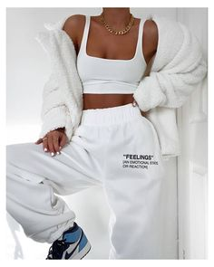 missy empire Martha Cream Teddy Faux Fur Coat Source by selinesaadoun lazy outfits Cute Lazy Outfits, Chill Outfits, Teen Fashion Outfits, Mode Outfits, Retro Outfits, Cute Casual Outfits, Look Fashion, Stylish Outfits, Cute Outfits With Sweatpants