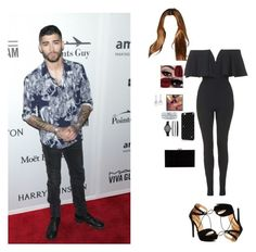 """""""With Zayn Mailk"""" by dorastyles-clxiv ❤ liked on Polyvore featuring Charlotte Olympia, Topshop, Bling Jewelry, BERRICLE, GALA and zaynmalik"""