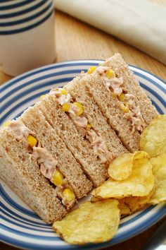 British Sandwich Week runs from the May. To celebrate the British sandwich we look at different sandwich fillings. Read on to see which you fancy. Cocoa Recipes, Wrap Recipes, Entree Recipes, Dog Recipes, Coffee Recipes, Deli Sandwiches, Tuna Sandwich Recipes, Subway Sandwich, Chicken And Sweetcorn Soup